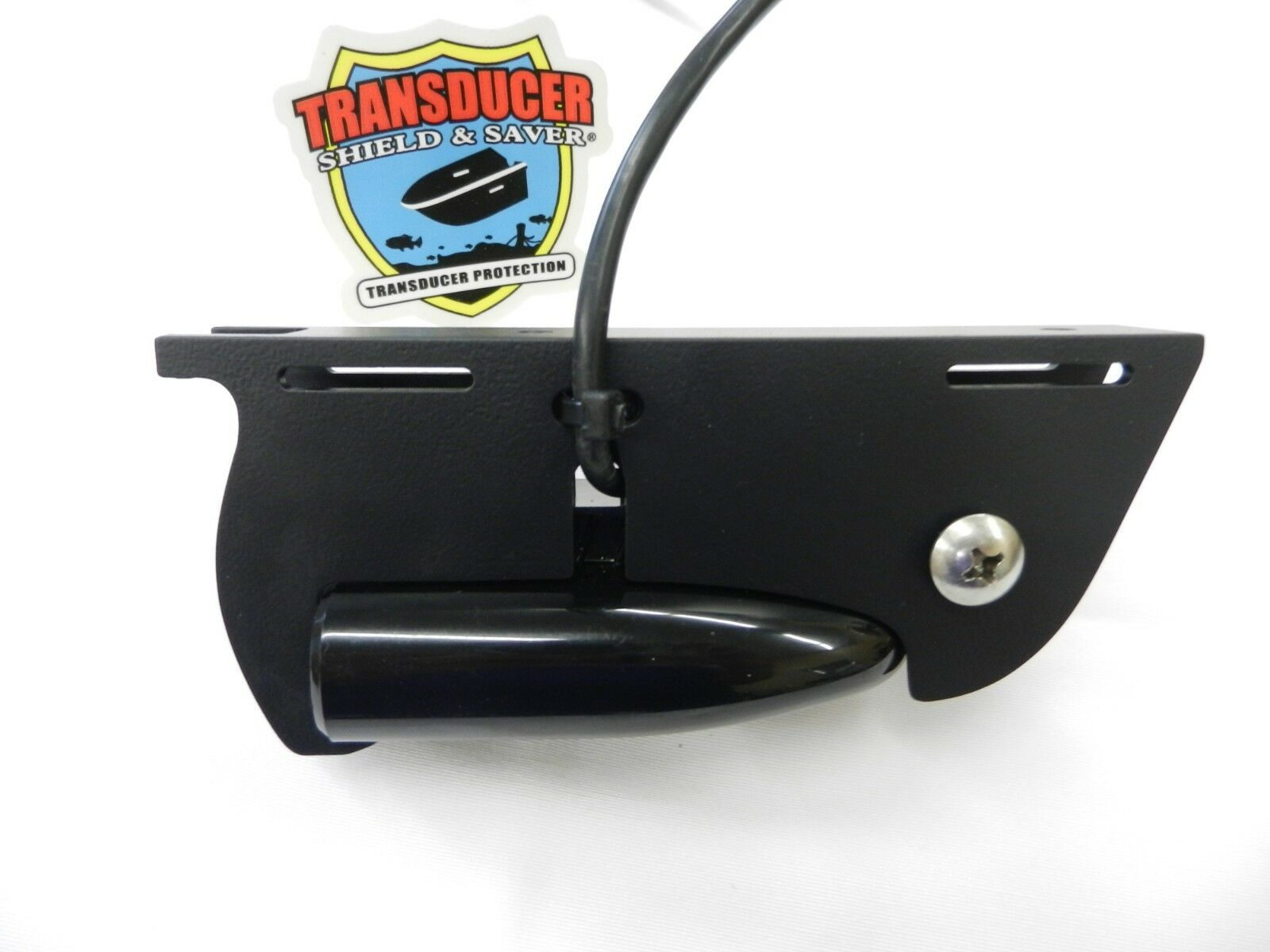 TRANSDUCER SHIELD & SAVER + STRAPS for LOWRANCE® HOOK2 SPLIT SHOT TRANSDUCER