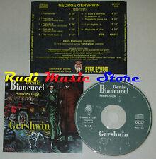 CD GERSHWIN Denis biancucci pianoforte sandra gigli soprano CENTO lp mc dvd vhs