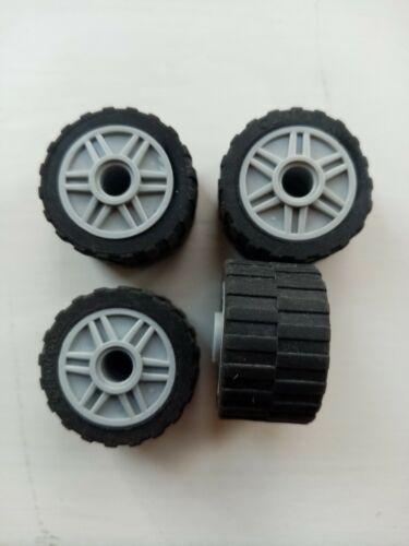 LEGO Parte 4 x 4299119 ampi CERCHIONI 18//14-55981 Grigio Chiaro