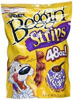 Purina Beggin' Strips Bacon - 3lbs (48 oz) Pets