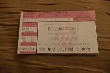 TICKET ROLLING STONES 1994 USA