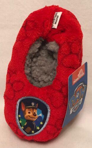 Paw Patrol Size 4-5 Children/'s Slipper Socks Brand New Chase