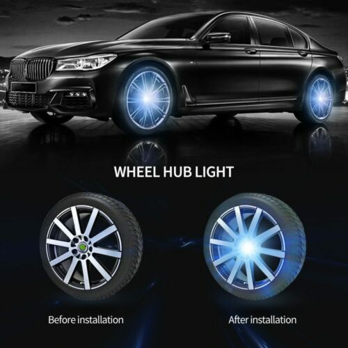 Hub Light Car Floating Illumination Wheel Caps LED Light Wheel Center Cap