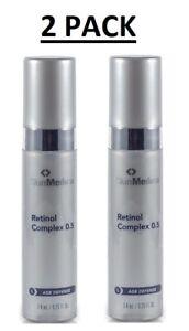 SkinMedica-Retinol-0-5-Trial-Size-2-PACK-2-X-25-OZ-Brand-New-Fresh