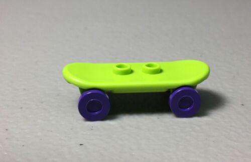 or Lime NEW Blue LEGO Minifigure Skateboard 42511 Choose Your Color Purple