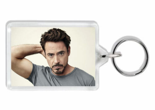 Bag Tag *Great Gift* Robert Downey Jr Keyring