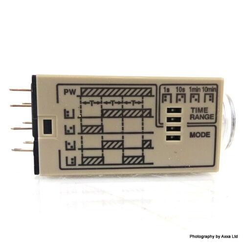Timer Relay H3YN-2 Omron 1s-10m 24VDC H3YN-2-24VDC-10M