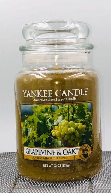 Yankee Candle NAPA VALLEY SUN Large Jar 22 Oz Yellow Housewarmer New Wax