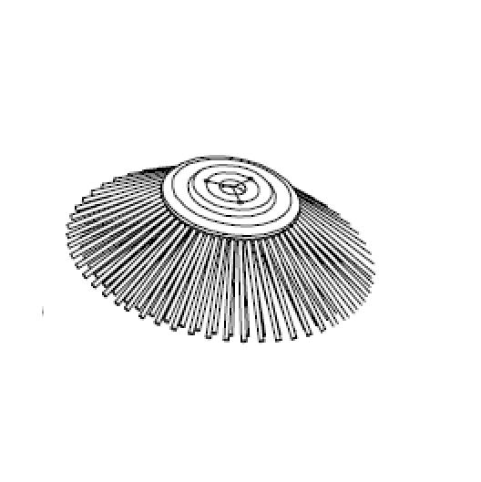 Nilfisk Seitenbesen 302 X 500 mm  PPL 1.5 Schwarz für SW5500 & Floortec R 985