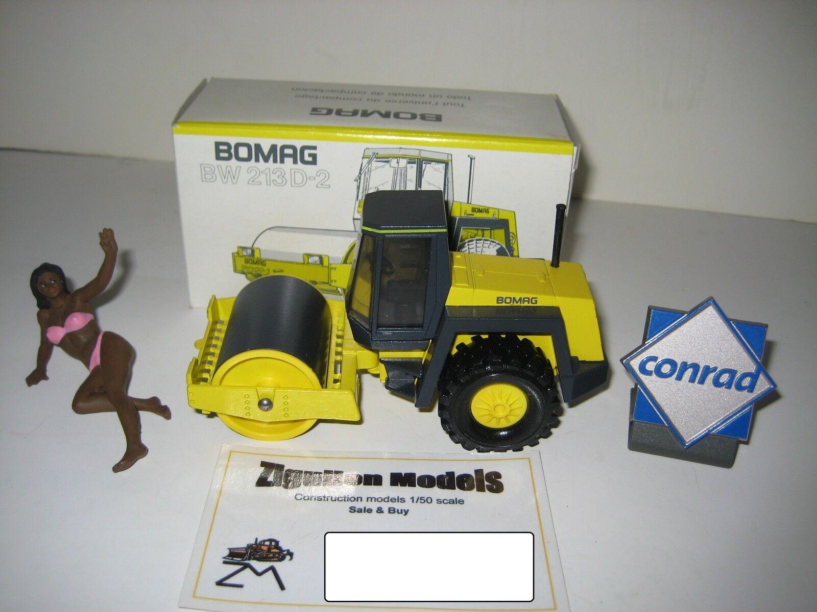 BOMAG BW 213 D-2 WALZE CONRAD 1 50 OVP