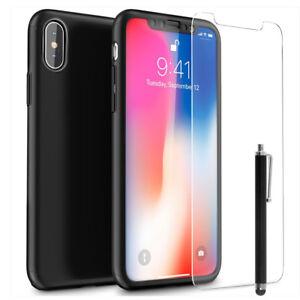 coque apple noir iphone x