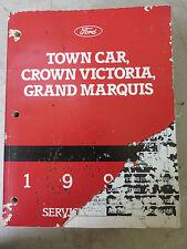 1994 Ford Crown Victoria Grand Marquis Town Car Service Repair Manual OEM Dealer