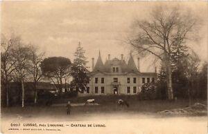 CPA AK Lussac pres LIBOURNE - Chateau de Lussac (655458)