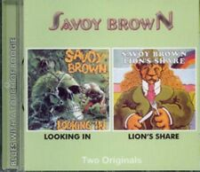 """Savoy Brown:  """"Looking In / Lion's Share""""  (2on1 CD Reissue)"""