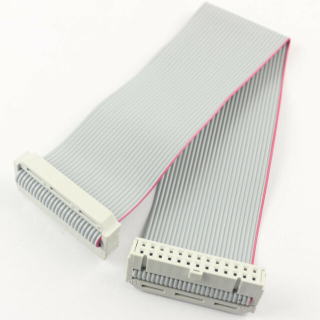2x13 Female to Female 2.54mm-Pitch 26-wire IDC Flat Ribbon Cable 26-Pin