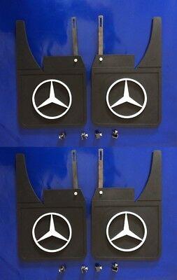 For MERCEDES W112 W113 W114 W115 SL107 Mud Flaps Splash guards Bracket Set of4