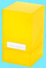 ULTIMATE GUARD MONOLITH AMBER JEWEL DECK CASE 100+ New Card Dice Storage Box