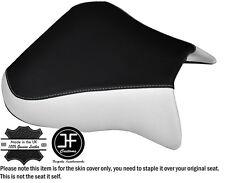 DESIGN 2 WHITE BLACK CUSTOM FITS APRILIA RSV 01-03 TUONO 04-05 1000 SEAT COVER