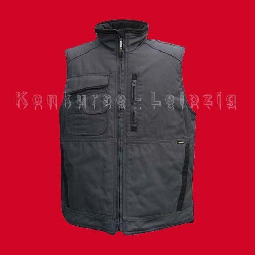 Dassy ® trabajo profesión CHALECO CHALECO canvas invierno Wayne 350087 XL gris//negro NUEVO