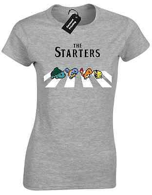 THE STARTERS LADIES T SHIRT FUNNY PARODY ABBEY RD