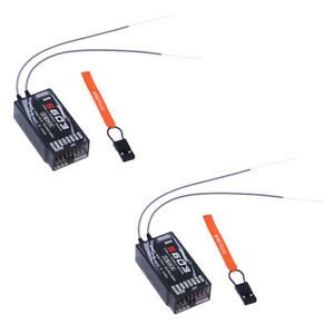 2pcs-S603-remote-receiver-for-Spektrum-Transmitter-AR6210-DSMX-DSM2-JR-RC