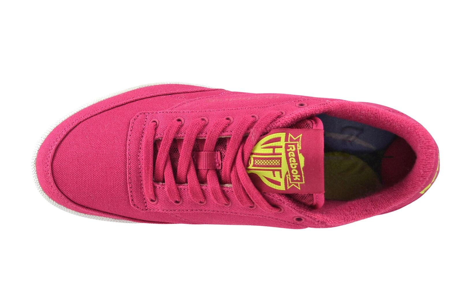 Reebok Club c85 c85 c85 eh rosa CRAZE giallo bianca scarpe da ginnastica Scarpe rosa bd2008 | Di Rango Primo Tra Prodotti Simili  a75a06