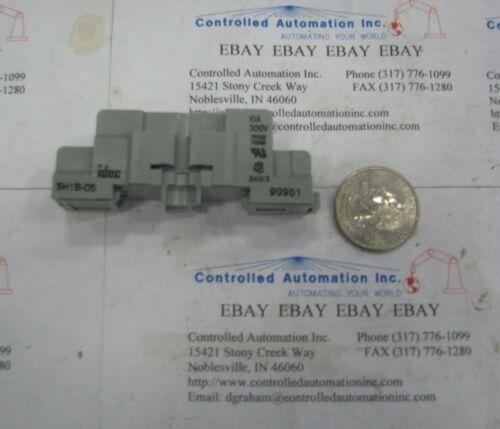 10A Idec Relay Socket//Base SH1B-05//SH1B05 300V