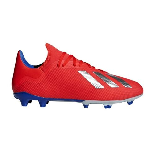 adidas Performance X 18.3 FG rot/silber/blau - Herren Fußballschuhe BB9367