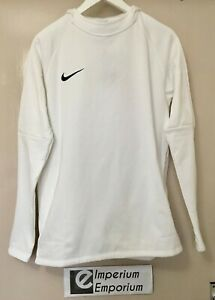 cheap price detailed images cheapest Details about Men's Nike Dry Fit Academy 18 Football Training Hoodie White  Size M