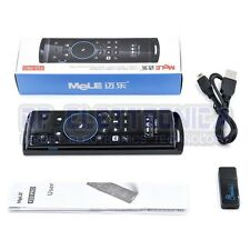 MeLE F10 Pro Wireless Keyboard Air Mouse 2.4GHz Microphone Earphone Speaker for