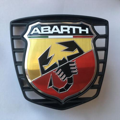 Original Fiat 500 Abarth delantero Front Emblem