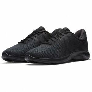 Mens Nike Revolution 4 EU Trainers Running Black Black AJ3490 002