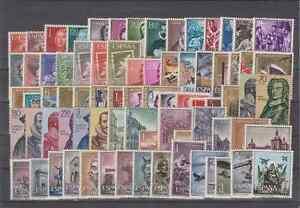 SPAIN-ANO-1961-NUEVO-MNH-SIN-FIJASELLOS-ESPANA-EDIFIL-1326-1405-SIN-HOJITAS