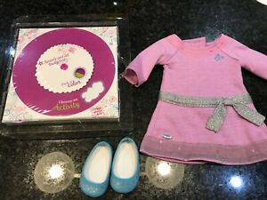 American-Girl-Doll-TM-Meet-Dress-shoes-activity-book-NIB