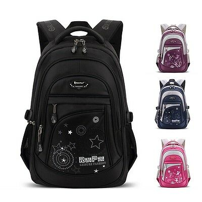 Boy Girl Bookbag Shoulder Bag School Satchel Fashion Backpack Travel Knapsack