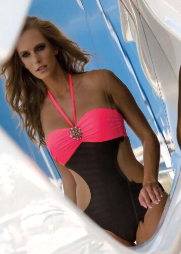A push tazas mod monokini baño traje de up 844b 34 tamaño 42 Bandok D chic RTxPAB