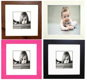 Square-Photo-Picture-Frames-Stand-or-Wall-Hang-Family-Gift-Present