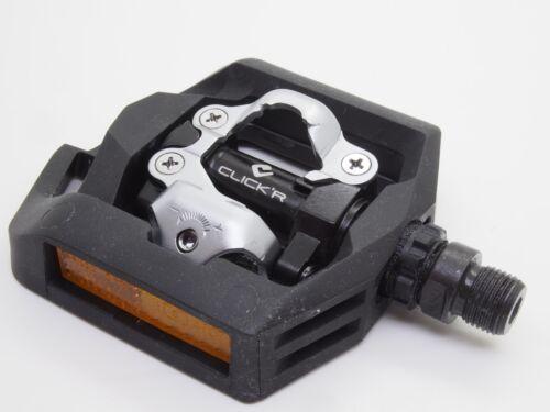 Shimano PD-T421 Trekking CLICK'R SPD Pedals Set w// Cleat SM-SH56
