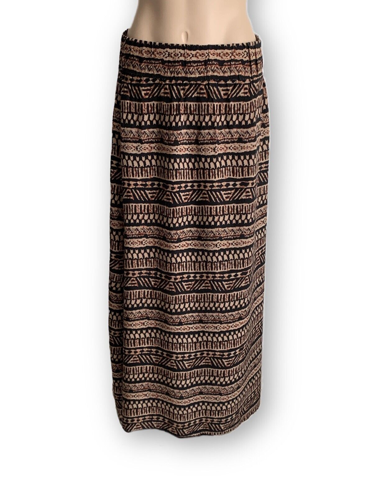 Maxi SKIRT Skirt Ladies Patterned Size 38 Blind Date