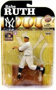 Mlb Cooperstown Collection Series 6 Figurine articulée de Babe Ruth yankees