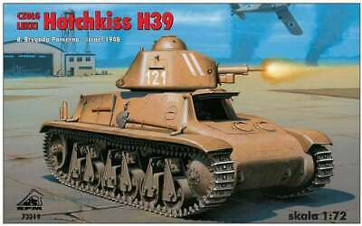 Aggressivo Hotchkiss H39 Carro Armato Leggero, Israele 1948 (1/72 Kit Modello, Rpm 72219) Qualità Eccellente