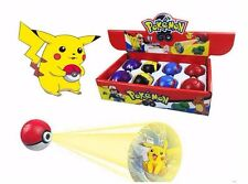 Pokemon Go Laser Projection PokeBall 5CM Comes With Free Pikachu Key Ring