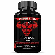 2x Prime Labs Men's Test Booster Natural Stamina Endurance and Strength Boost