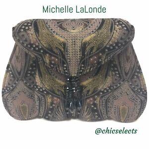 Bolso hombro con Lalonde Michelle de correa Lambsuede de xqrHtCpxdw