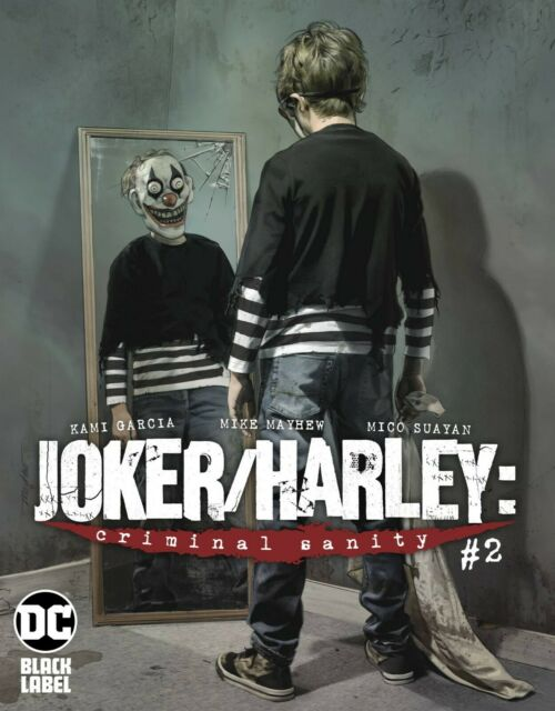 Joker Harley Criminal Sanity # 2 of 9 Mattina Variant Cover NM DC