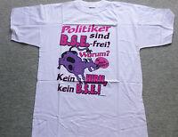 Fun Shirt T-shirt Sprüche  Politiker Sind ...  Gr. Xl Neu