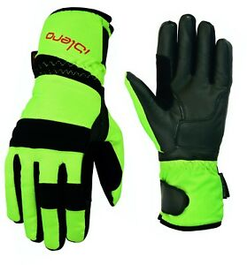 ISLERO-All-Weather-Motorbike-Waterproof-Gloves-Leather-Windproof-Tempest-Unisex