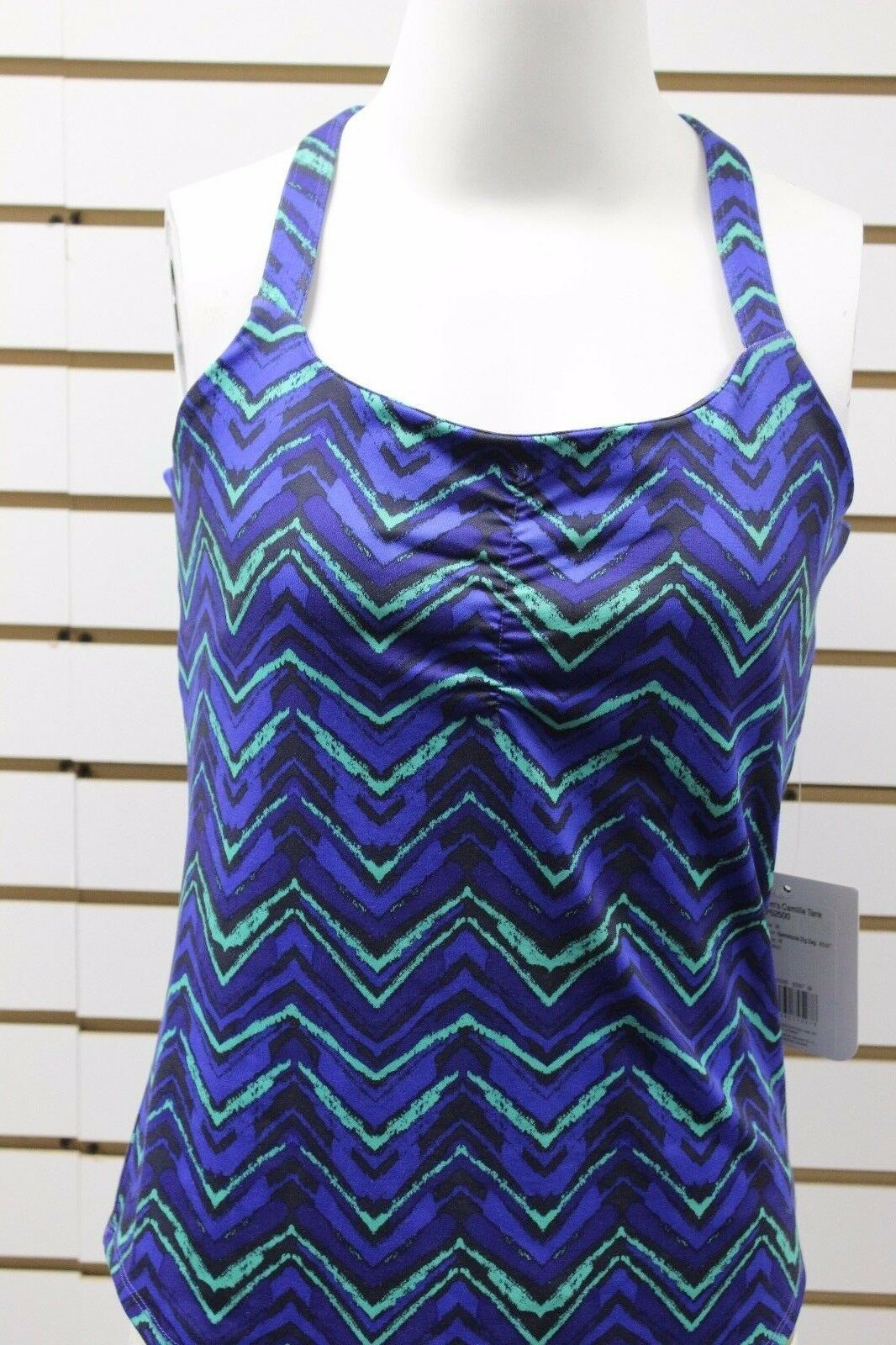 Women's Marmot Camille Sleeveless Tank Gemstone Zig Zag 52500 Brand New With Tag