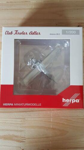 """OK-TIR """"Luis Trenker"""" Neu Herpa 570831-1//200 Tiroler Adler Antonov AN-2"""