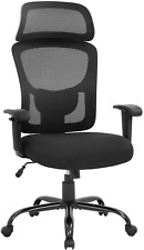 Big And Tall Office Chair 400lbs Wide Seat Executive Desk Chair With Lumbar High
